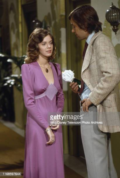 Anne Lockhart John Fink appearing in the ABC tv series 'Honeymoon Suite'