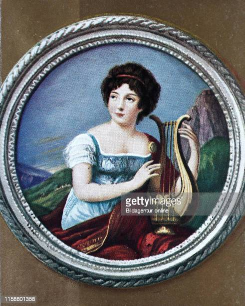 Anne Louise Germaine de StaelHolstein nee Necker 22 April 1766 Ð 14 July 1817 commonly known as Madame de Stael was a French woman of letters of...