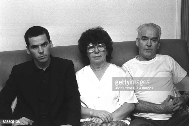 Anne Maguire her husband Patrick and son Patrick at their Maida Vale home in London after hearing their cases of the socalled Maguire Seven are to be...