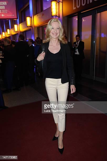 Anne Manuela Tischler attend 'Deutscher Gruenderpreis 2012' at Zollernhof ZDF on June 26, 2012 in Berlin, Germany.