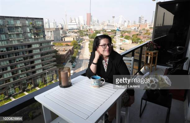 Anne Marie Aikens of Metrolinx says her number one requirement in buying a new condo was a balcony that gives her a view and a connection to the city...