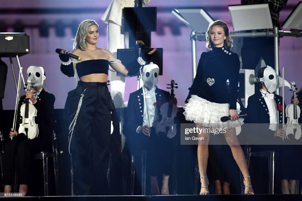 Anne Marie And Zara Larsson Perform On Stage With Clean Bandit During News Photo Getty Images