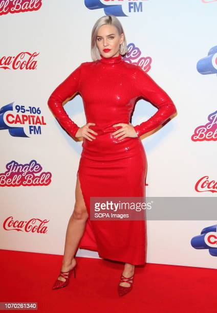 Anne Marie at the Capital Jingle Bell Ball with CocaCola on Day one at The O2 in Peninsula Square