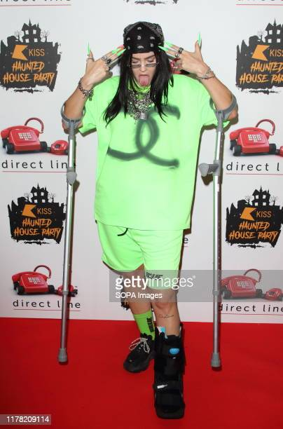 Anne Marie at the KISS Haunted House Party at the SSE Arena, Wembley in London.
