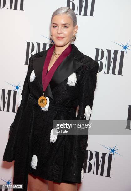 Anne Marie attends BMI Awards 2019 at The Savoy Hotel on October 21 2019 in London England