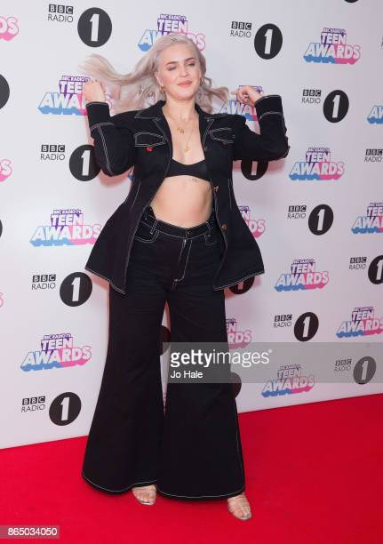 Anne Marie attends the BBC Radio 1 Teen Awards 2017 at Wembley Arena on October 22 2017 in London England
