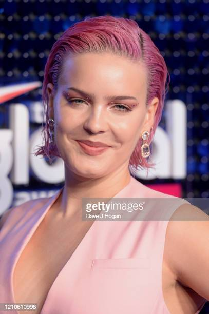 Anne Marie attends The Global Awards 2020 at Eventim Apollo Hammersmith on March 05 2020 in London England