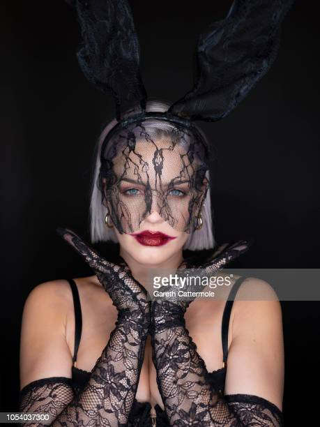 Anne Marie attends the KISS Haunted House Party 2018 at The SSE Arena Wembley on October 26 2018 in London England