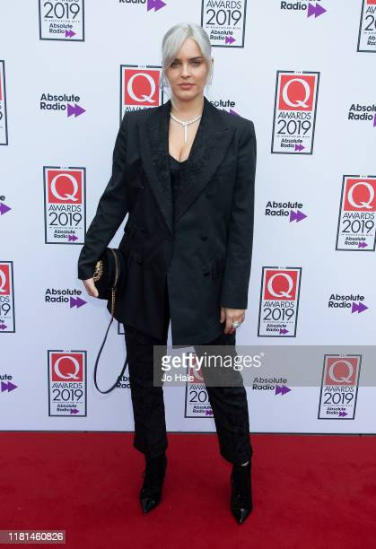 Anne Marie attends the Q Awards 2019 at The Roundhouse on October 16 2019 in London England