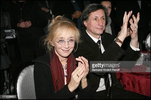 Anne Marie Chazel Patrick De Carolis at The Paris Premiere Of The Film Chico Un Gipsy Ordinaire At The Paris Bodega