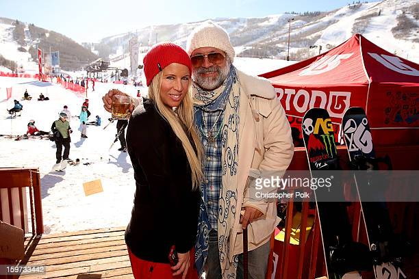 Anne Marie Dacyshyn and Greg Dacyshyn attend Burton Learn To Ride on January 19 2013 in Park City Utah