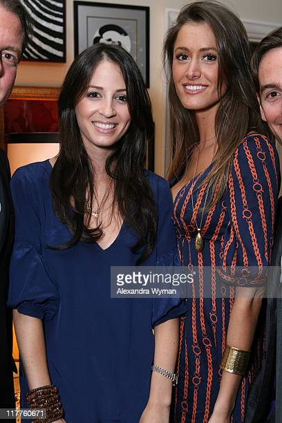 Anne Marie Dillard and Katie Boskovich during Heaven's for Everyone Charity Launch at Woodson and Rummerfield's at Woodson and Rummerfield's Design...