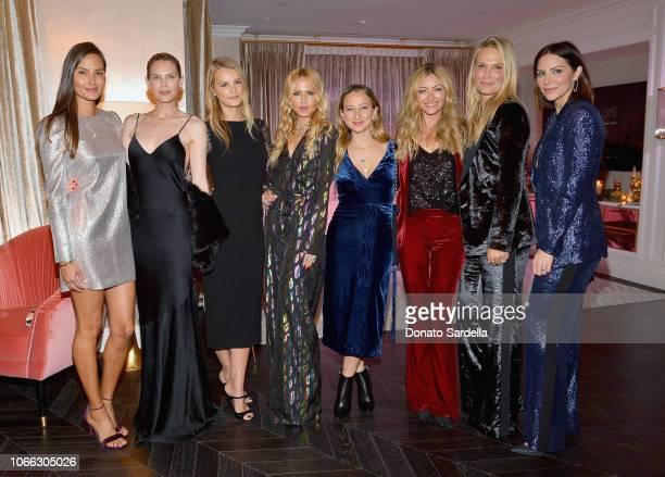 Anne Marie Kortright, Sara Foster, Kelly Sawyer Patricof, Rachel Zoe, Jennifer Meyer, Rebecca Gayheart, Molly Sims, and Katharine McPhee attend the...
