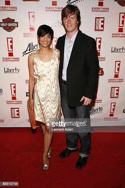 Anne Marie Mediwake and guest attend the E 1st Anniversary Bash held at Spicy Route Restaurant during the 2008 Toronto International Film Festival on...