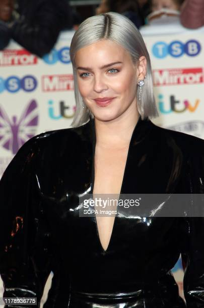 Anne Marie on the red carpet at The Daily Mirror Pride of Britain Awards in partnership with TSB at the Grosvenor House Hotel Park Lane