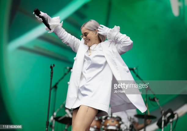 Anne Marie performs at the Radio 1 Big Weekend at Stewart Park on May 25 2019 in Middlesbrough England