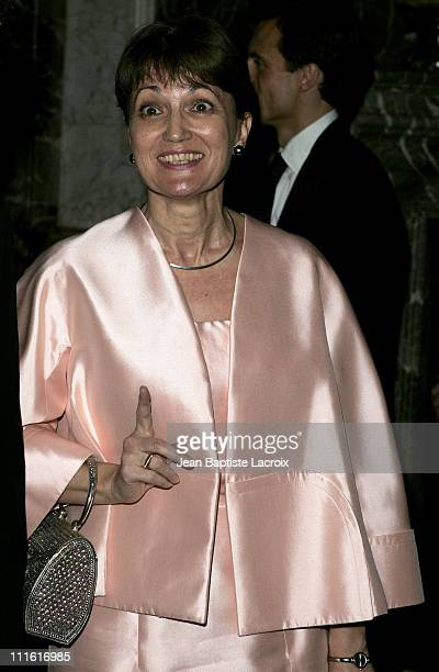 Anne Marie Raffarin during 12th Annual Nuit International de l'Enfance Charity Gala at Chateau de Versailles in Paris, France.