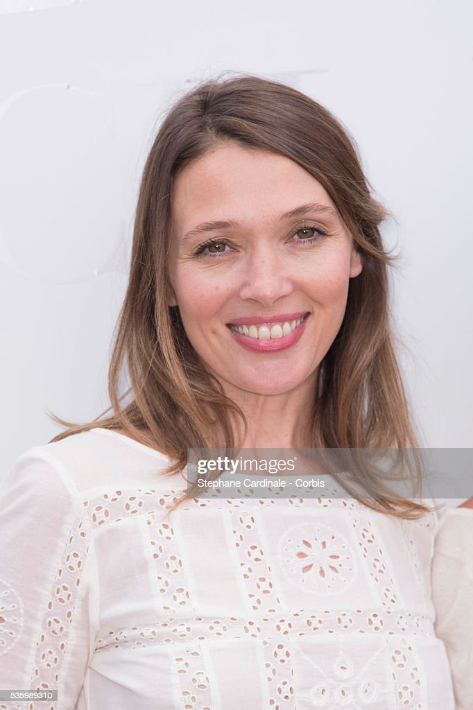 Anne Marivin attends the 'Brunch Blanc' hosted by Barriere Group. Held on Yacht 'Excellence' on June 29, 2014 in Paris, France.