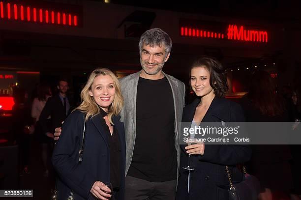 Anne Marivin Francois Vicentelli and Alice Dufour attend Grand Cordon Party At The YoYo Club 2016 FIA Formula E Championship Paris E Prix the April...