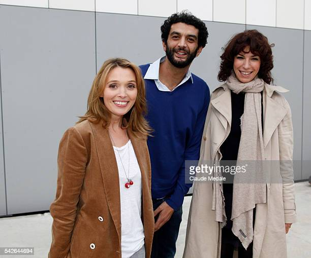 Anne Marivin Ramzy Bédia and Anne Depetrini for the movie 'Il reste du Jambon' at the 15th International Festival of Young Directors