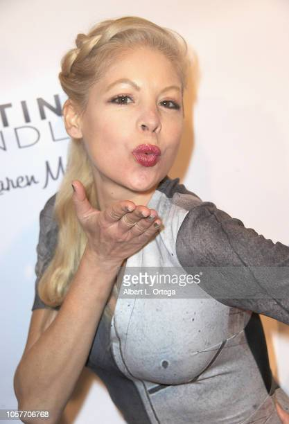 Anne McDaniels attends 6th Annual Love Your Body Fashion Show And Shopping Event held at Luxe Sunset Boulevard Hotel on November 4 2018 in Beverly...