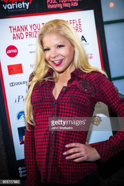 Anne McDaniels attends Young Variety's 12th Annual Pool Tournament benefiting Variety at Fantasia Billiards on February 28 2018 in Burbank California