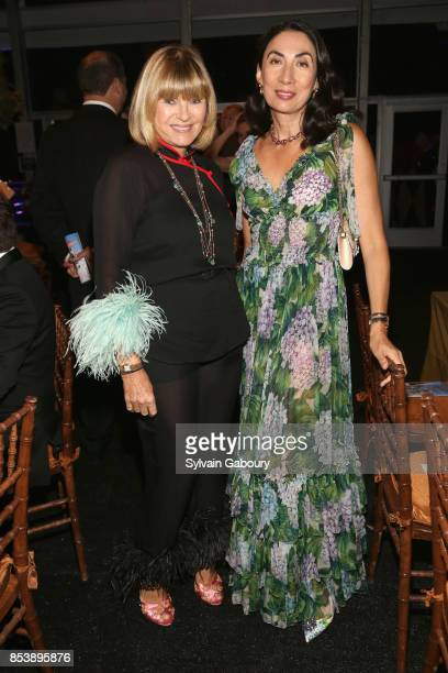 Anne McNally and Anh Duong attend Metropolitan Opera Opening Night Gala at Lincoln Center on September 25 2017 in New York City