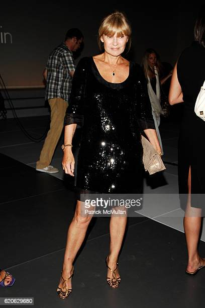 Anne McNally attends CALVIN KLEIN INC Celebrates Milestone 40th Anniversary at the High Line on September 7 2008 in New York City