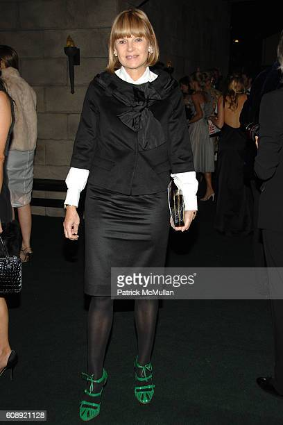 Anne McNally attends CFDA/Vogue 7th ON SALE 2007 Gala at 69th Regiment Armory on November 15 2007 in New York City