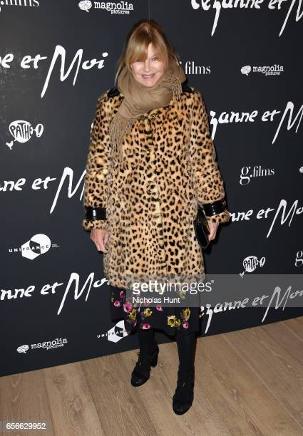 Anne McNally attends the Cezanne Et Moi New York Premiere at the Whitby Hotel on March 22 2017 in New York City