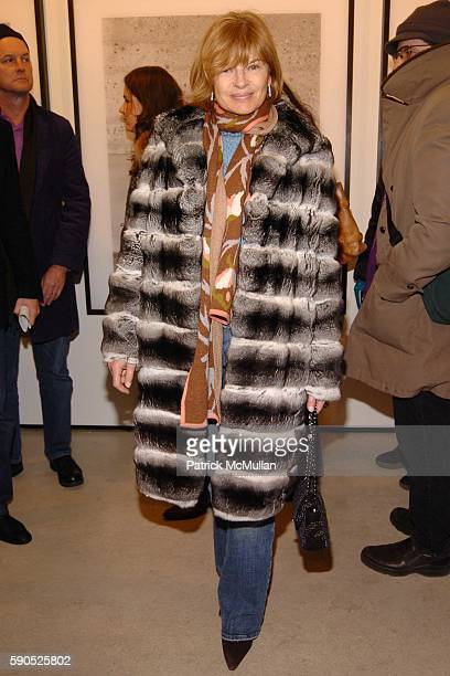 Anne McNally attends The Opening of Pam American Icon Photograghs by Sante D'Orazio at Stellan Holm Gallery on January 21 2005 in New York City