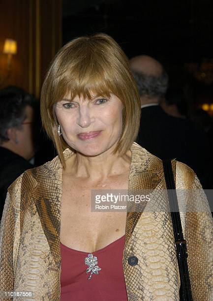 Anne McNally during The 2004 Pen Literary Gala and the Presentation of Free Expression Awards at The Pierre Hotel in New York City New York United...