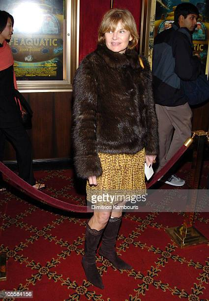 "Anne McNally during ""The Life Aquatic with Steve Zissou"" New York Premiere - Inside Arrivals at Ziegfeld Theater in New York City, New York, United..."