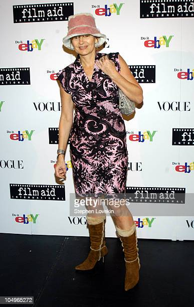 Anne McNally during Vogue and eBay Host Holiday Party to Benefit FilmAid International at Diane von Furstenberg Studios in New York City New York...