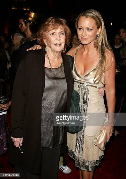 Anne Meara and Christine Taylor during Night at the Museum New York Premiere Arrivals at The American Museum of Natural History in New York City New...