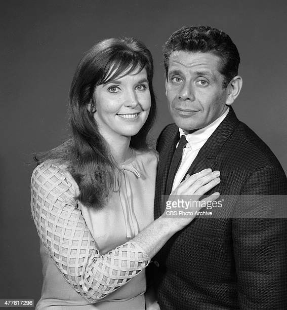 Anne Meara and Jerry Stiller are photographed for THE ED SULLIVAN SHOW Image dated November 7 1966