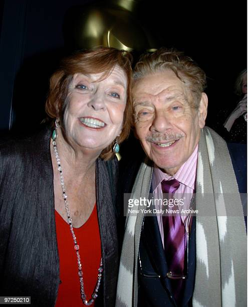 Anne Meara and Jerry Stiller at the Academy of Motion Picture Sciences New York Oscar Night Party held at the Carlyle Hotel