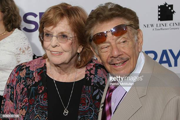 Anne Meara and Jerry Stiller attend HAIRSPRAY New York Premiere at The Ziegfeld Theatre on July 16 2007