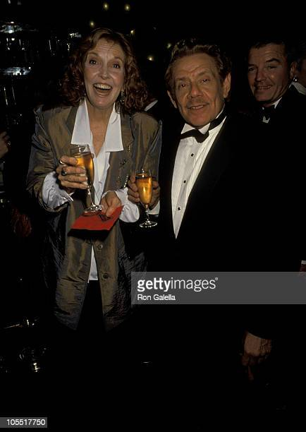 Anne Meara And Jerry Stiller during 63rd Annual Academy Awards - New York Party at The Russian Tea Room at Russian Tea Room in New York City, New...