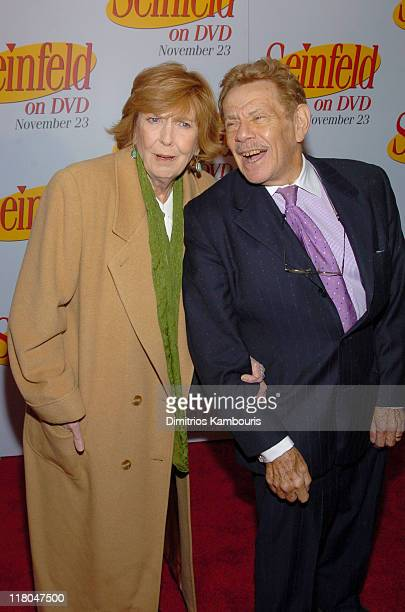 Anne Meara and Jerry Stiller during Seinfeld New York DVD Release Party at Rockefeller Plaza in New York City New York United States