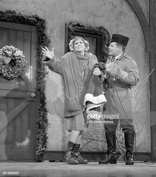 Anne Meara and Jerry Stiller the comedy team 'Stiller and Meara' appear on The Ed Sullivan Show December 17 1967