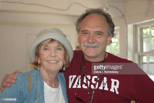 Anne Meara and Willy Hoizman during Anne Meara and Willy Hoizman at Nantuket Film Festival Office at Nantuket Film Festival Office in Nantucket...