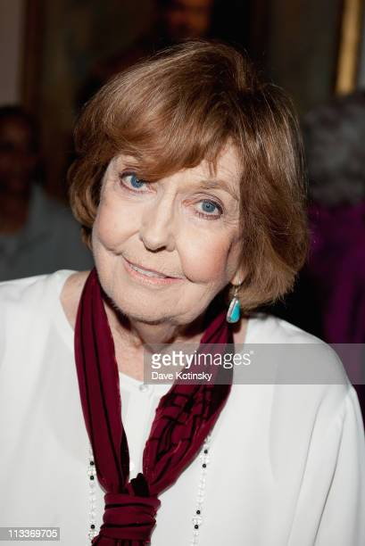 Anne Meara attends the 2011 Players Foundation for Theatre Education Hall of Fame Inductions at The Players Club on May 1 2011 in New York City