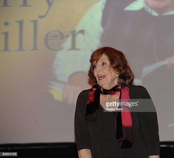 Anne Meara attends the Jerry Stiller show at the Hilton Hotel & Casino on January 17, 2009 in Atlantic City, New Jersey.
