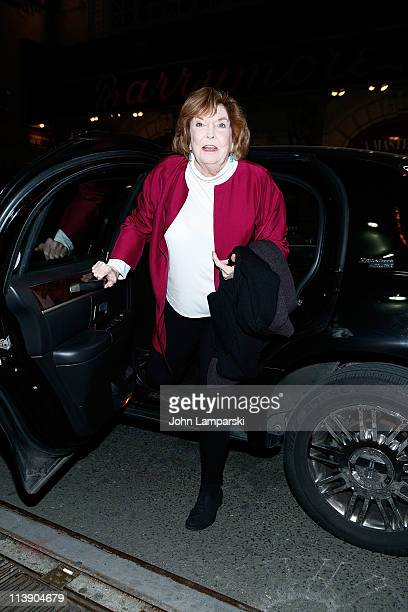 Anne Meara attends the TACT/The Actors Company Theatre Spring Gala at The Edison Ballroom on May 9 2011 in New York United States