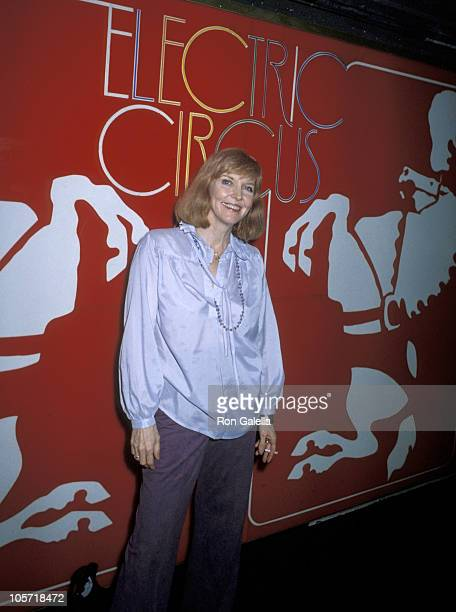 Anne Meara during Benefit for the Children's Dance Theater May 31 1979 at Electric Circus Disco in New York City New York United States