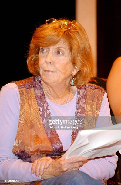 """Anne Meara during Nantucket Film Festival 9 - Staged Reading Of John Shea's """"Waverly Place"""" at Actors Theater in Nantucket, Massachusetts, United..."""