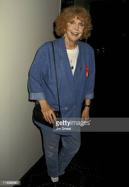 Anne Meara during Opening Night Post Show Party For Billy Strictch at Rainbow Stars in New York City New York United States