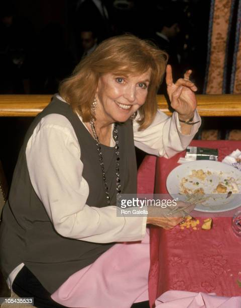 Anne Meara during Party For New Play What's Wrong With This Picture at Dish of Salt Restaurant in New York City New York United States