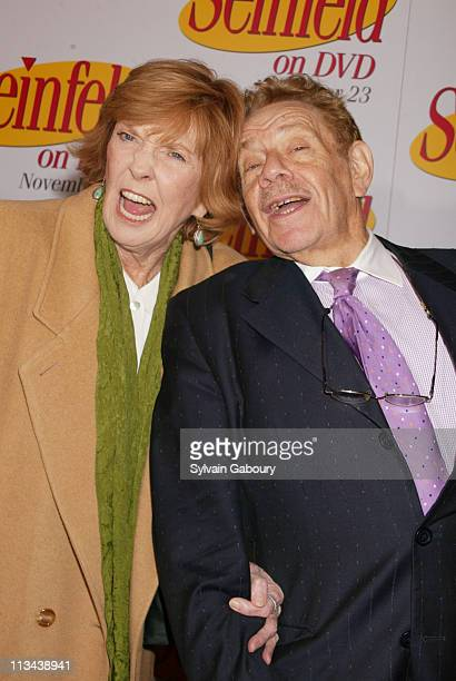 Anne Meara Jerry Stiller during The Seinfeld Cast Reunites to Celebrate the Release of Seinfeld on DVD at The Rainbow Room in New York New York...